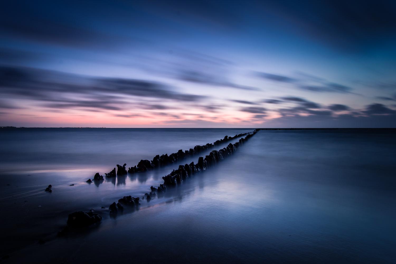Hindeloopen IJsselmeer paaltjes